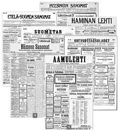sanomalehdet pieni